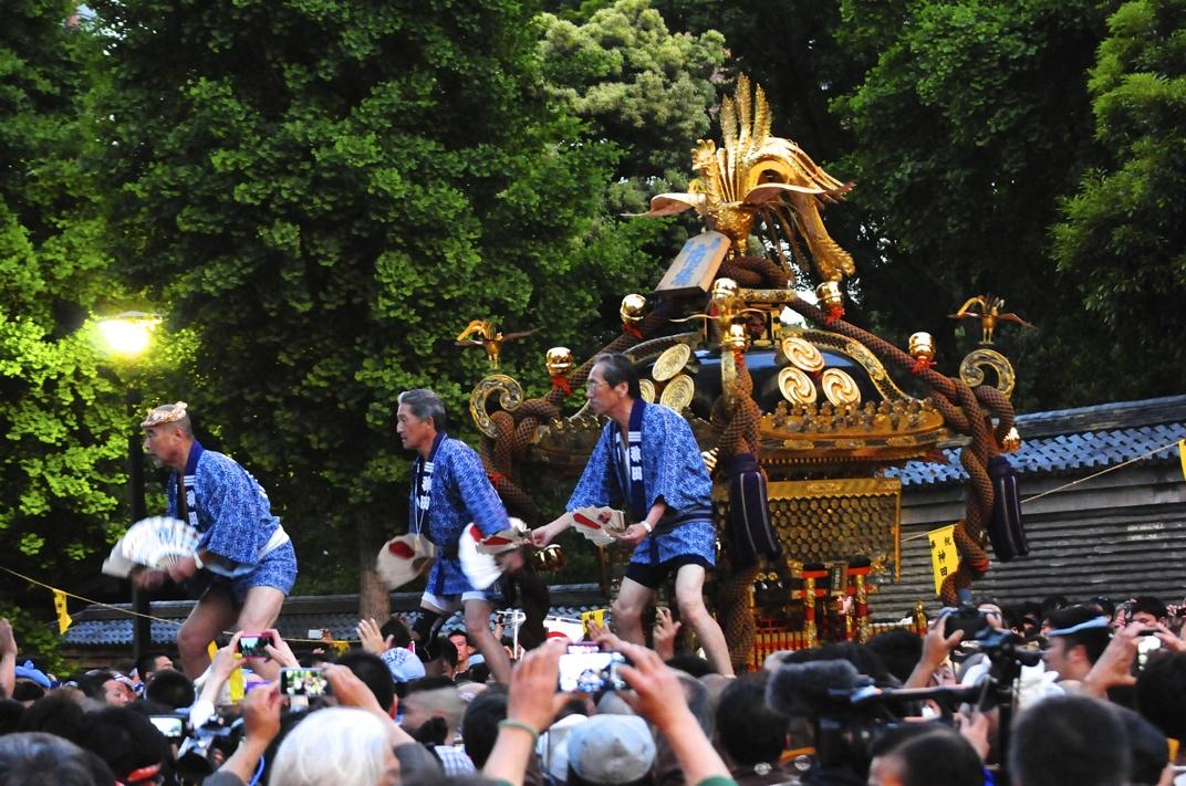 神田祭 市場神輿