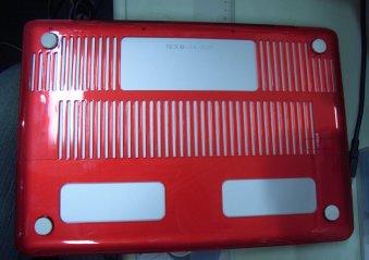 Macbookクリスタルケース