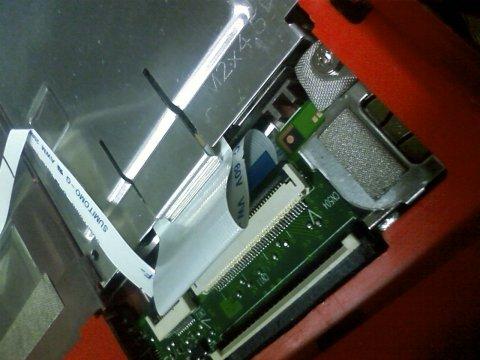 mini1000 HDDケーブル